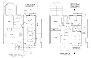 Floor plans for house extension